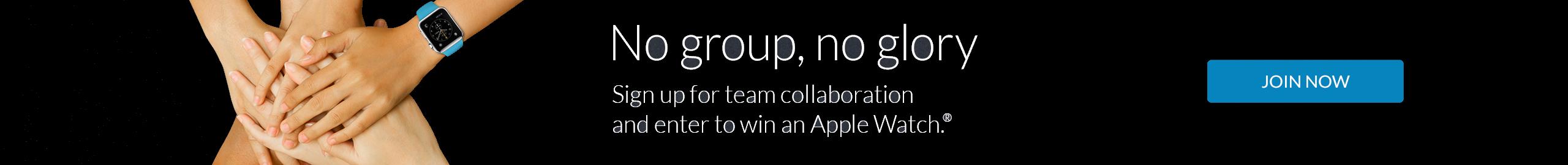 No Group, No Glory